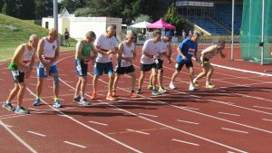 Irish transplant athletes rack up 21 medals at British Transplant Games