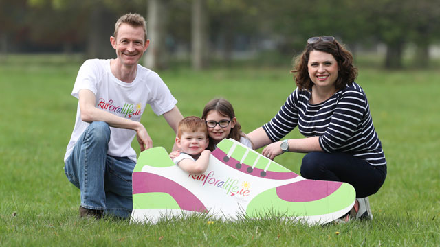 Woman and child awaiting organ transplants step out to highlight IKA's Run for a Life