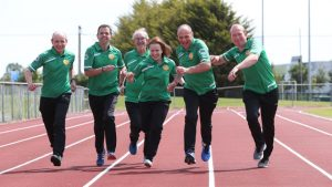 transplant team ireland take to the track at ALSAA