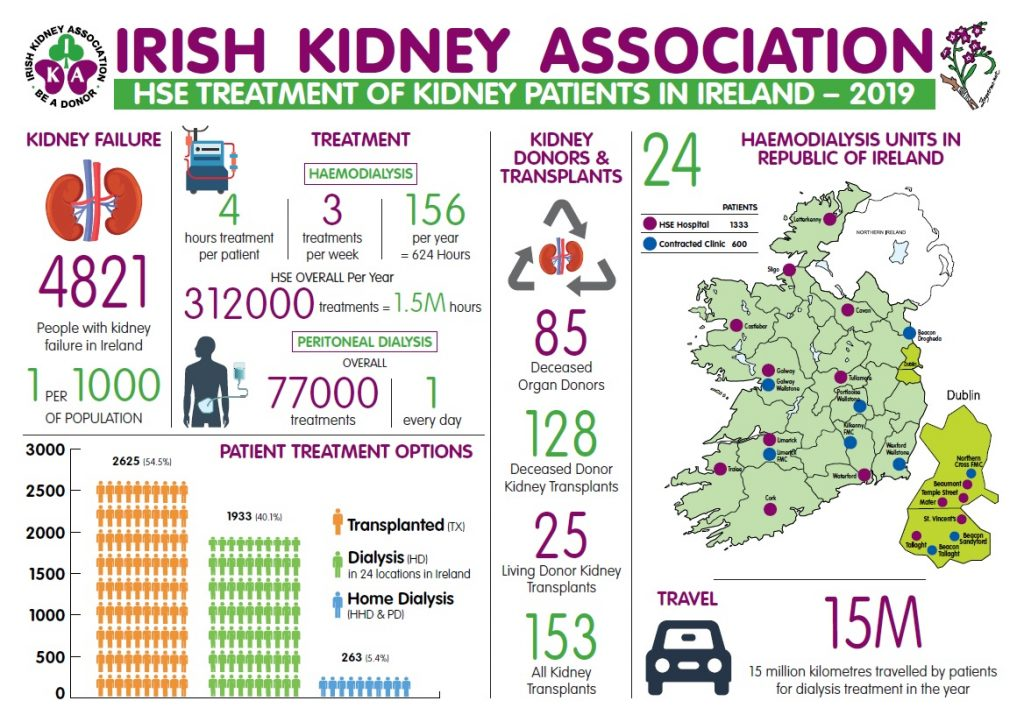 Infographic - Kidney Patients in Ireland