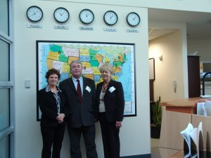 Mark at the United Network for Organ Sharing (UNOS) in Richmond, Virginia