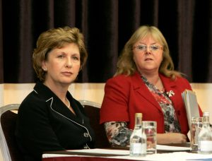 Lorraine Costello with President Mary McAleese in 2007 for EDODT