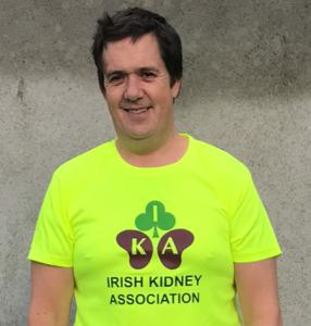 Patrick Williams Jnr in his IKA t-shirt